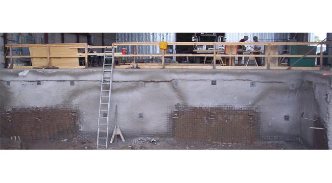 Niagara Biosolids Facility - Inside Pit