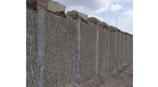 Centron Business Park Retaining Wall