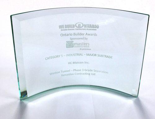 HCM Presented Ontario Builder Award