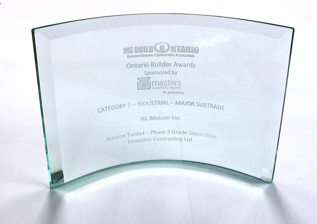 Ontario Builder Award